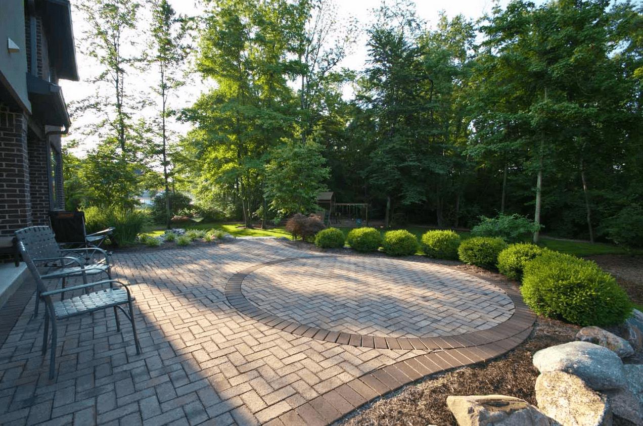 Back Yard Landscaping & Interlocking